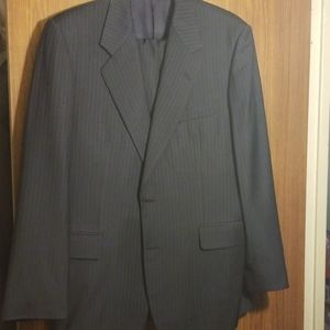 Hickey Freeman suit.